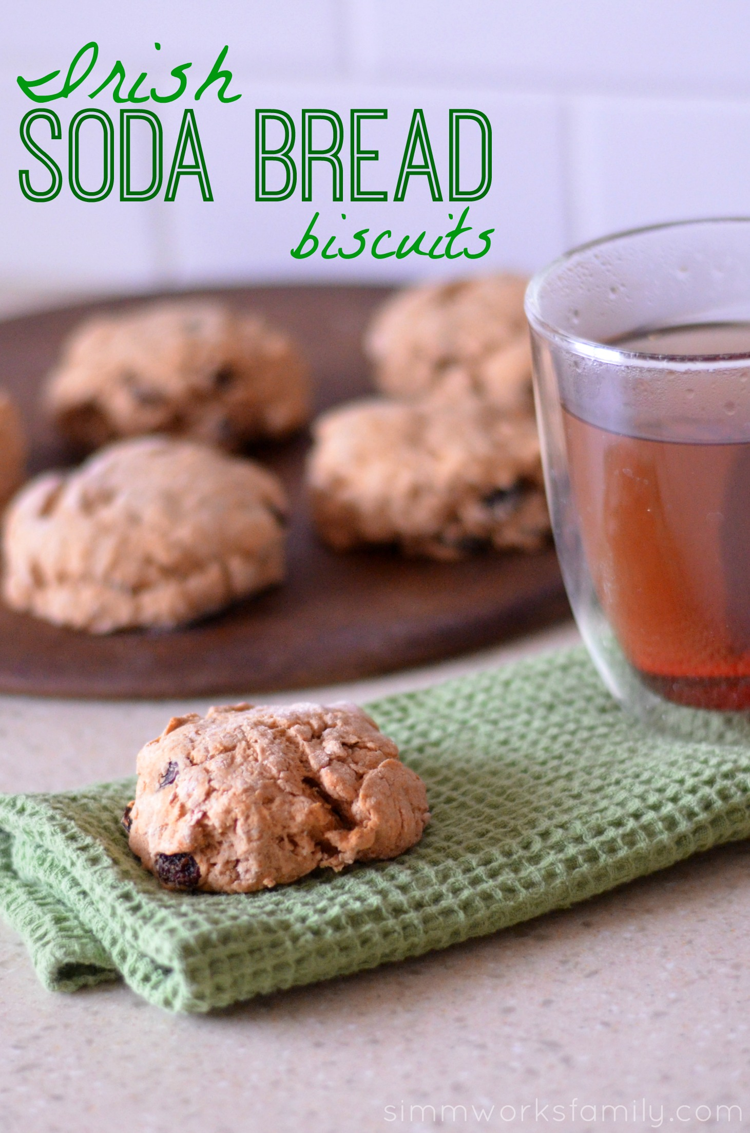 Irish Soda Bread Biscuits Recipe | A Crafty Spoonful