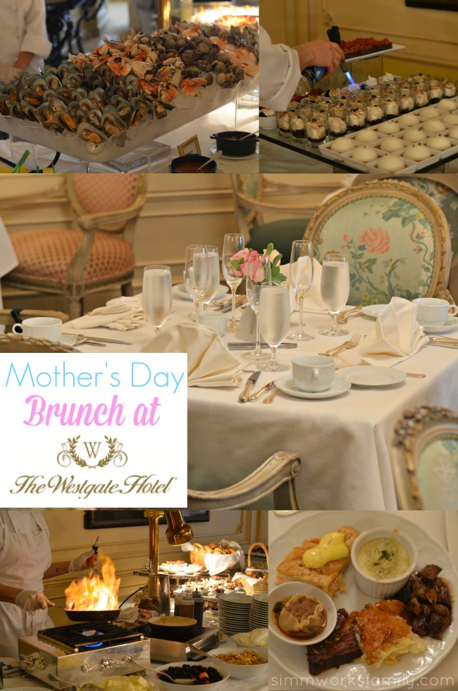 Mother's Day Brunch at The Westgate Hotel - A Crafty Spoonful