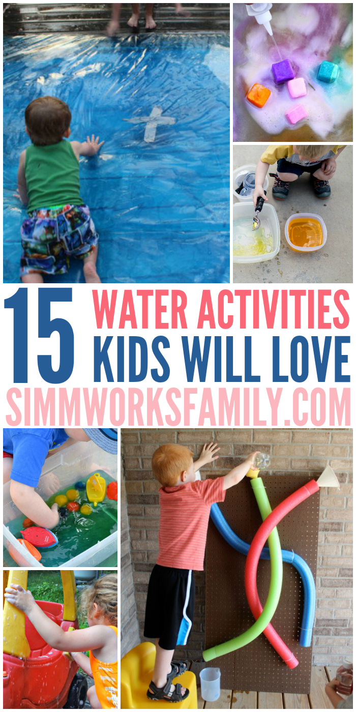 15 Water Activities For Kids - A Crafty Spoonful