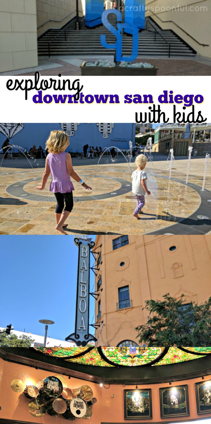 Exploring Downtown San Diego with kids? Here are a few things you can check out while here! Including things to do, places to explore, and food to eat.