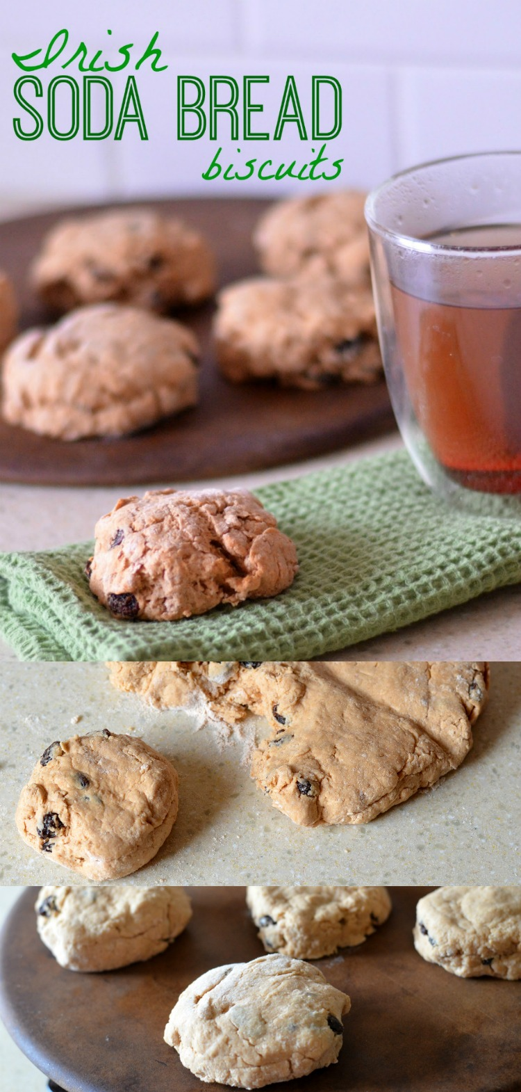 These Irish Soda Bread Biscuits are sure to hit all of the right spots when you pair it with a delicious cup of tea or coffee morning, noon, or night! They're so simple to whip up on a lazy Sunday.