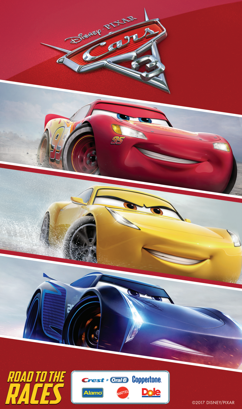 The CARS 3 Road to the Races Tour is in San Diego tomorrow June 6th at Belmont Park. Tons of freebies and photo opps with your favorite CARS 3 characters.