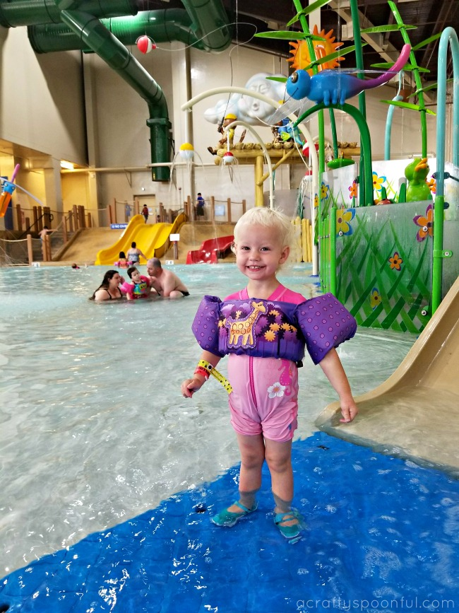 Is Great Wolf Lodge a good place to stay when you have a toddler? Check out these things to do with toddlers at Great Wolf Lodge!