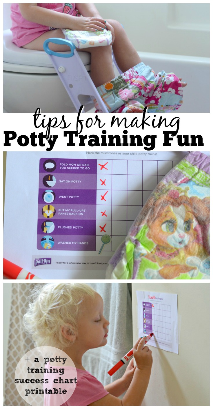 Make Potty Training Fun, Potty Reward Chart Printable