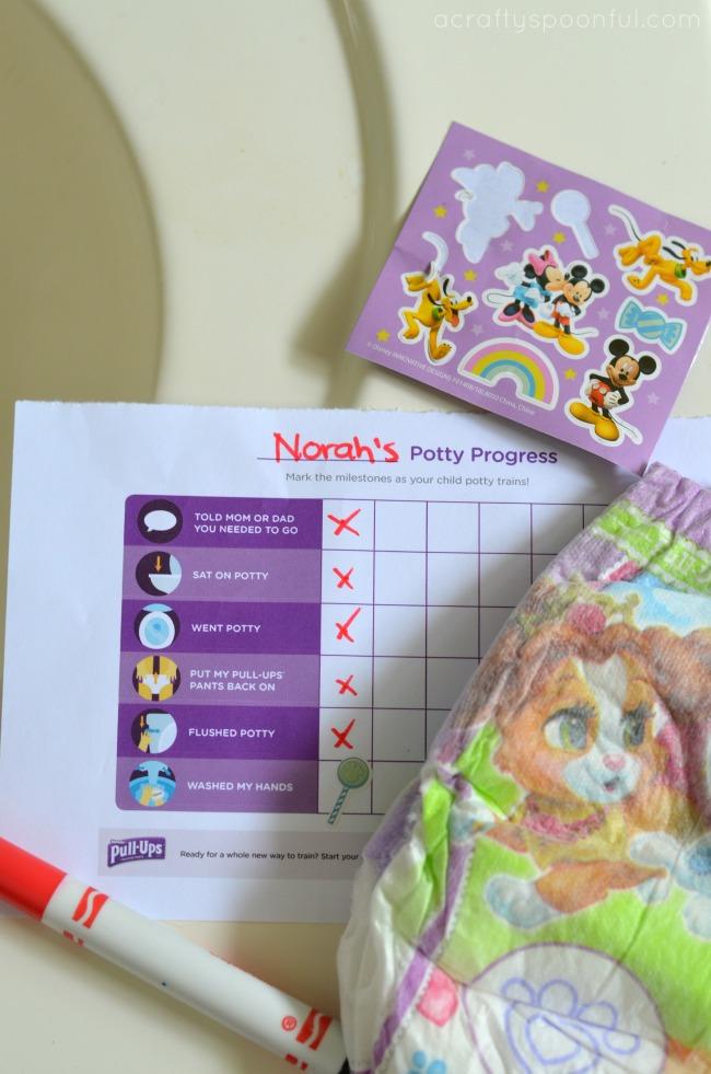 Make Potty Training Fun, Potty Reward Chart Printable
