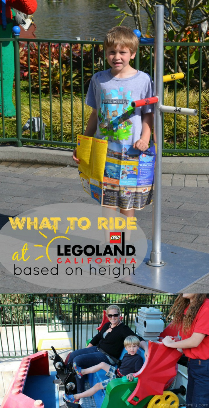 What to ride at Legoland California based on height - a complete guide to the park's rides and attractions for your next trip to Southern California.