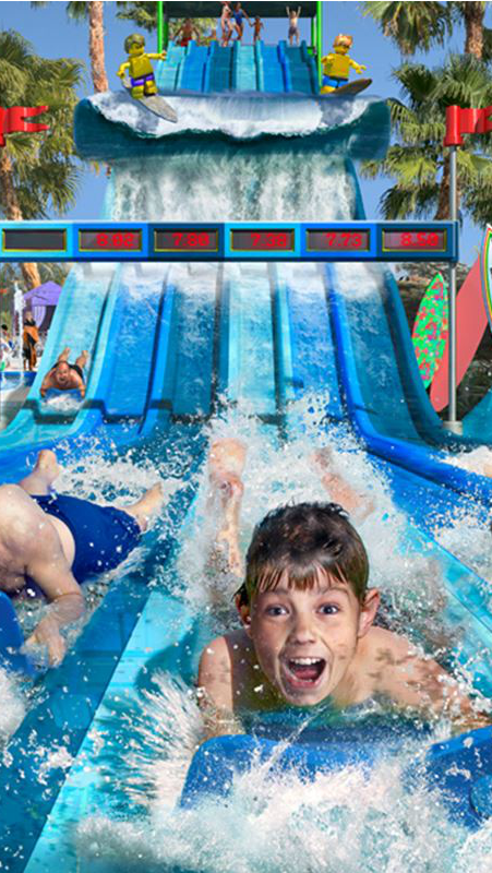 Who's ready for some water fun? Surfers' Cove at Legoland California opens this summer!
