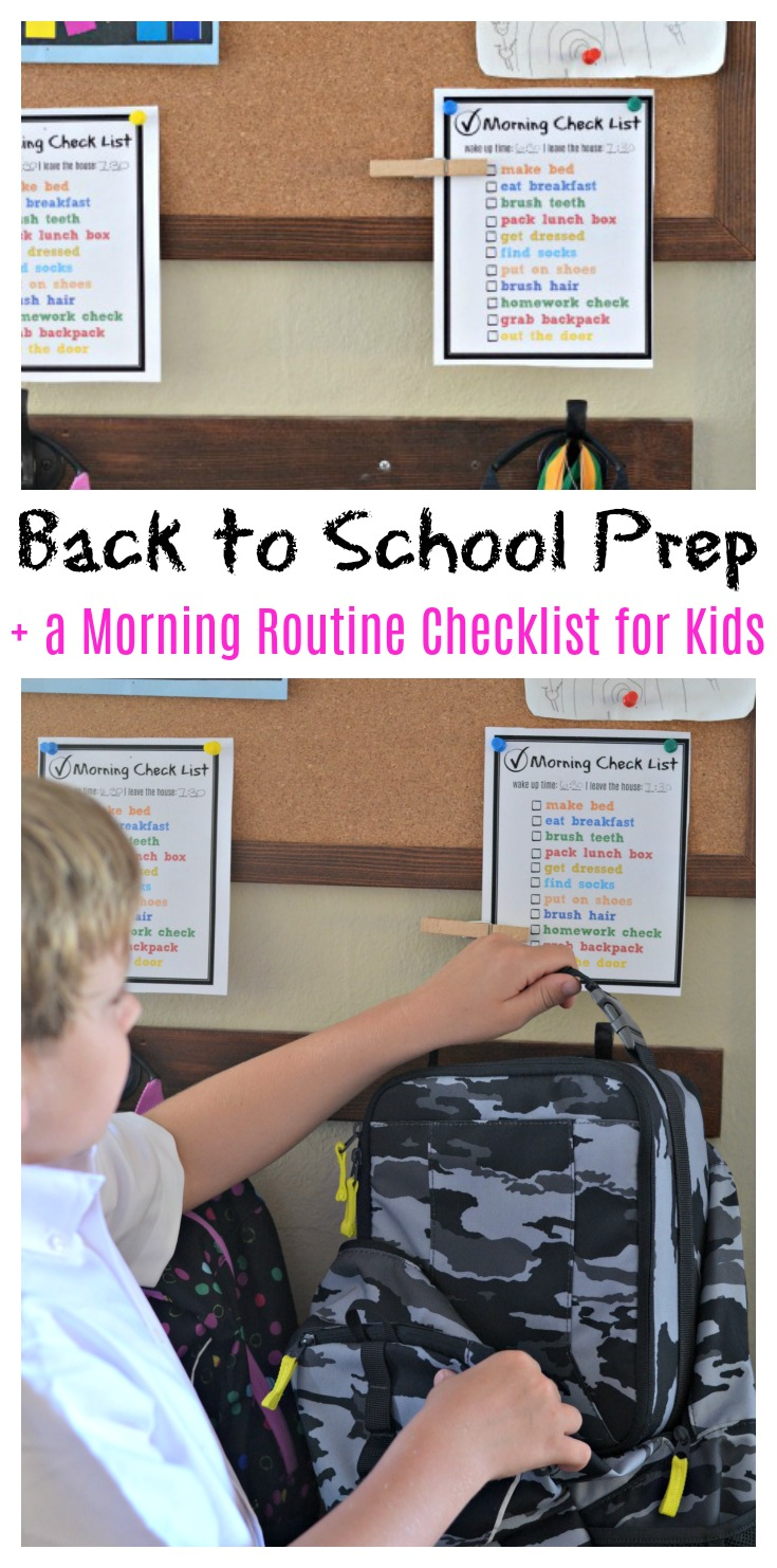 To help the kids find their routine again, we've created these simple morning routine check list reminders to remind them of what to do in the morning.