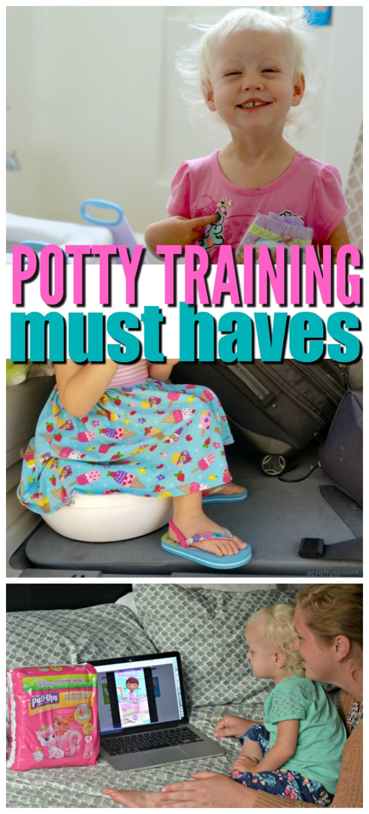 We're sharing the ultimate potty training kit including 5 potty training must haves to make potty training easier! AD