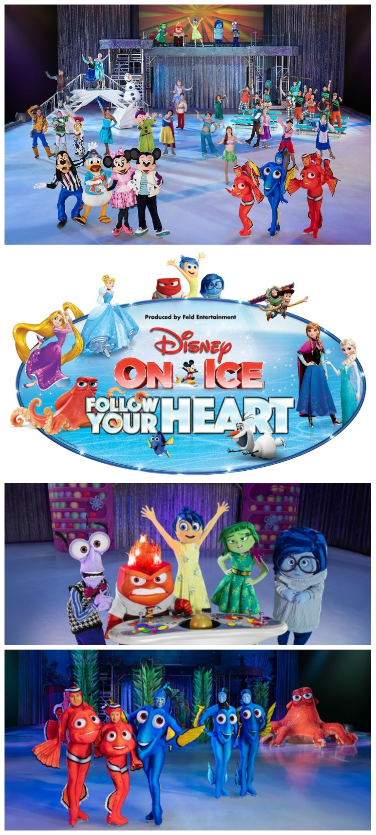 Enter to win a 4pack of tickets to Disney on Ice Follow Your Heart in San Diego! Ends 1/19 AD