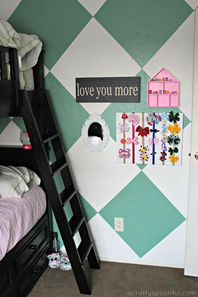 Easy Diy Hair Bow Holder Simple Bedroom Decor Ideas On A Budget